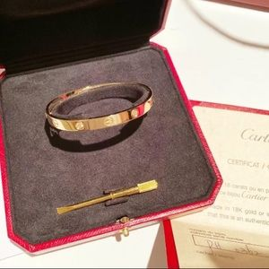 Cartier 4diamonds bracelet